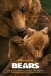 """Bears"" poster graphic from Disney Nature"